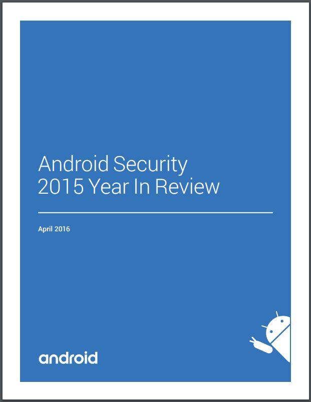 Google veröffentlicht zweiten Android-Security-Jahresbericht