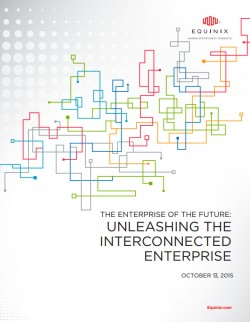 """The Enterprise of the Future Report"" (Bild: Equinix)"