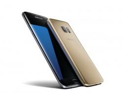 Samsung Galaxy S7 Edge in Schwarz und Galaxy S7 in Gold (Bild: Samsung)