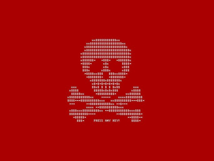 Petya-Lockscreen (Bild: G Data)