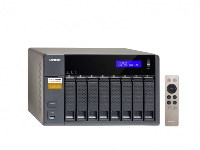 Linuxfähiges NAS: Turbo Station TS-x53A von Qnap (Bild: Qnap)