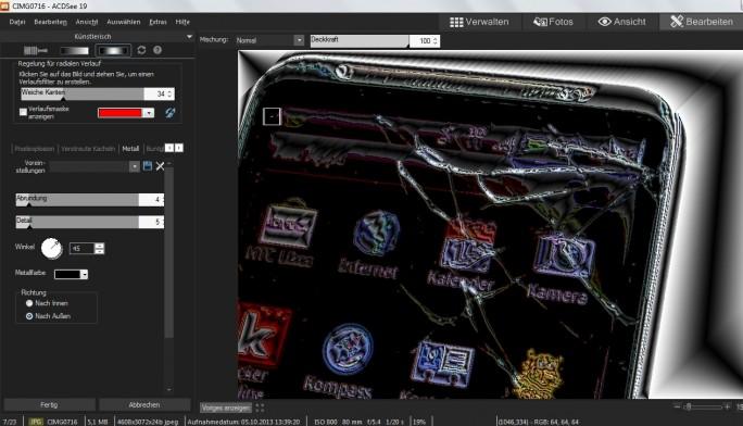 Bildbearbeitung in ACDSee: Die Intensität der Effekte lässt sich individuell anpassen (Sceenshot: Mehmet Toprak).