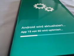Android-Aktualisierung (Bild: ZDNet.de)