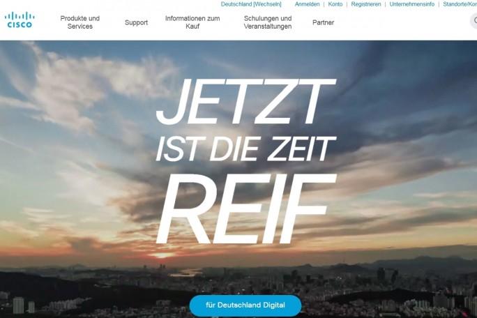 ... Website von Cisco, Deutschland und die ...