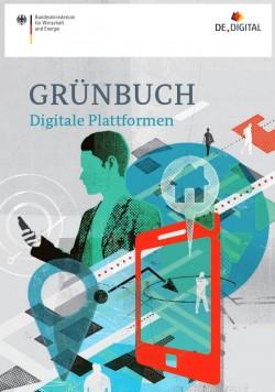 """Das Bundeswirtschaftsministerium hat heute das """"Grünbuch Digitale Plattformen"""" (Grafik: BMWi)"""