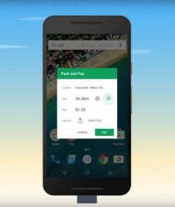 Als ein Anwendungsbeispiel  für eine Instant App zeigt Google einen virtuellen Parkautomaten (Screenshot: silicon.de).