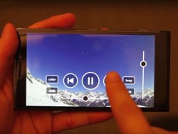 Microsoft Gestensteuerung Smartphone (Screenshot: silicon.de bei Youtube)