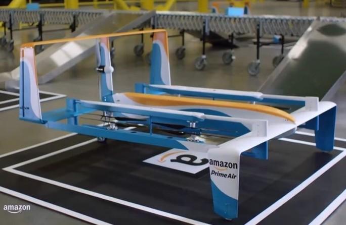 Eines der aktuellen Modelle, mit denen Amazon für den Service Prime Air experimentiert (Bild: Amazon).