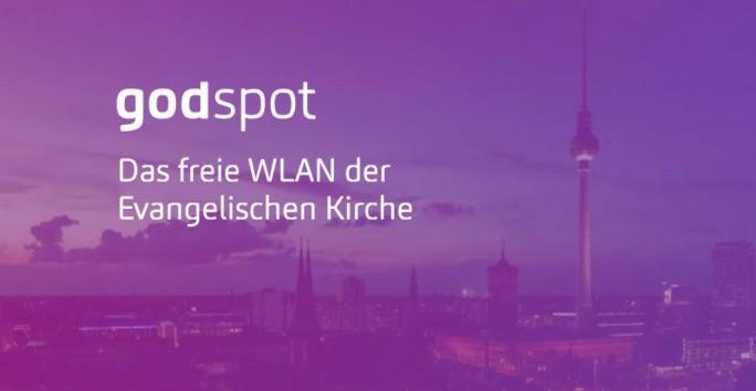 """Die evangelischen Kirchen in Berlin und Brandenburg bieten jetzt als """"Godspots"""" bezeichnete offene WLAN-Netze an (Screenshot: silicon.de)."""
