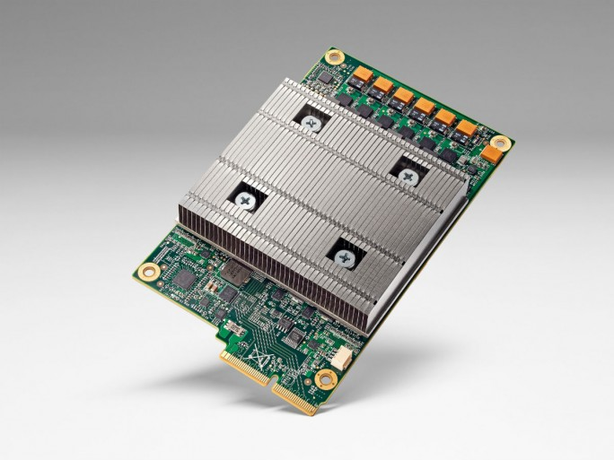 Googles Tensor Processing Unit ist für Maschinenlernen optimiert (Bild: Google).