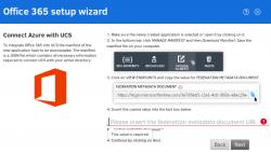 Einrichtungsassistent für die Konfiguration des UCS Connectors zu Office 365 (Bild: Univention).