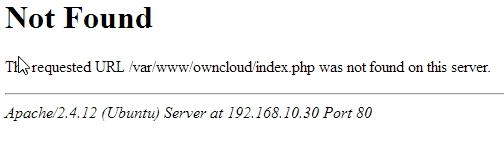 Nach der Aktualisierung oder Neuinstallation von ownCloud 9 gibt es Probleme beim Zugriff auf den Dienst. (Screenshot: Thomas Joos)