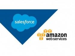 """AWS wird """"bevorzugter Public-Cloud-Infrastrukturanbieter"""" von Salesforce.com (Grafik: Salesforce.com)."""