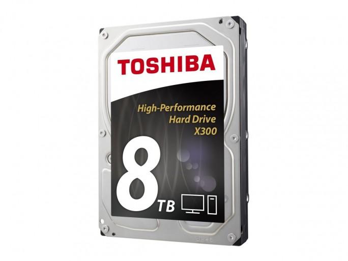 Toshiba X300 8 TByte (Bild: Toshiba)