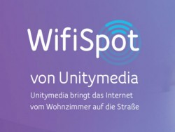 Aber auch die Kabelnetzbetreiber nutzten die Gelegenheit und überzogen ihr jeweiliges Verbreitungsgebiet mit WLAN-Hotspots. Dem Beispiel von Kabel Deutschland folgte zunächst Tele Columbus und dann auch Unitymedia (Bild: Unitymedia).