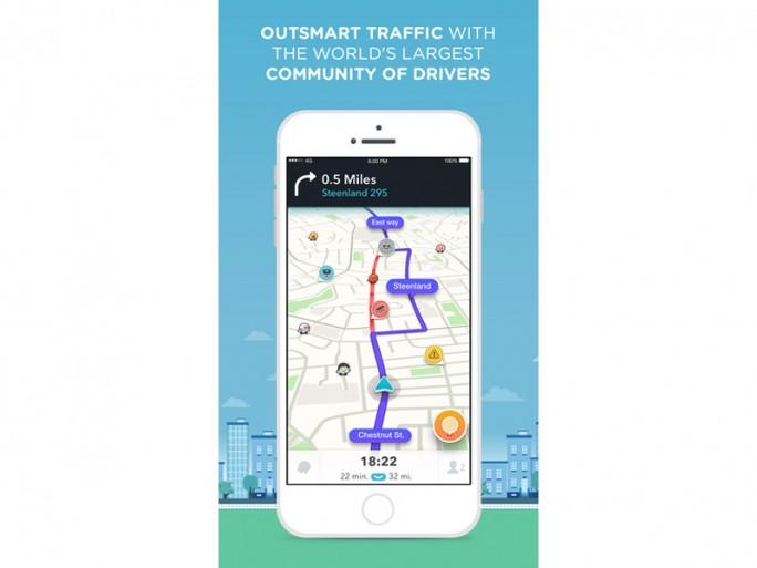 Navigations-App Waze (Bild: Waze)