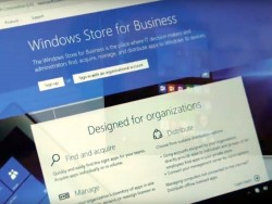 Windows Store for Business (Screenshot: silicon.de bei Youtube)