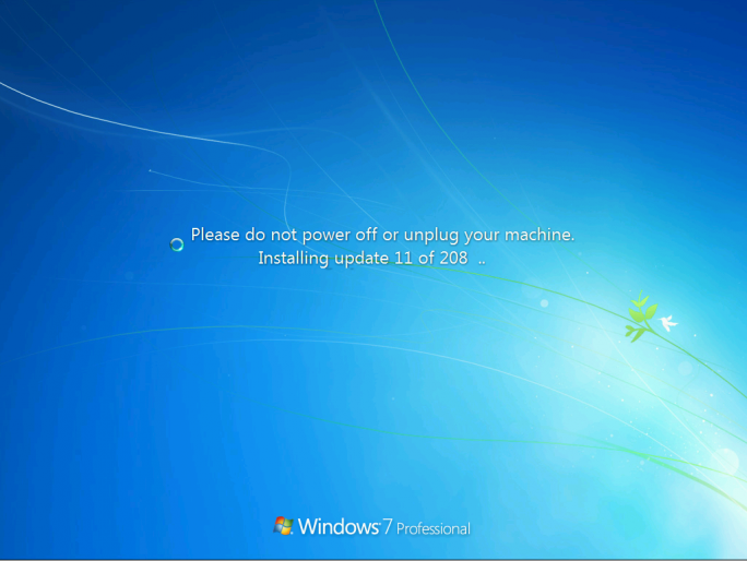 """Ein neu installiertes Windows 7 SP1 erfordert derzeit mehrere Dutzende Updates. Deren Installation soll mit dem """"Convenience Rollup Update"""" vereinfacht werden (Screenshot: Microsoft)."""