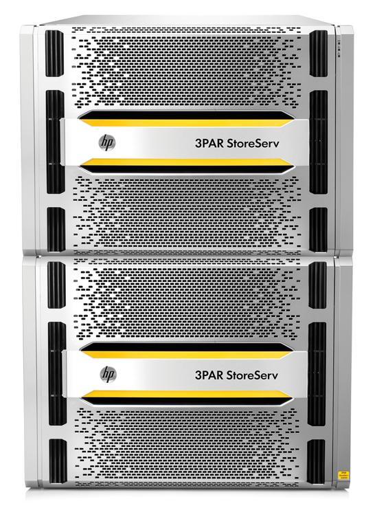 Das 3PAR StoreServ All-Flash-Array soll die mit 24 Petabyte die höchste SSD-Dichte am Markt liefern. (Bild: HPE)