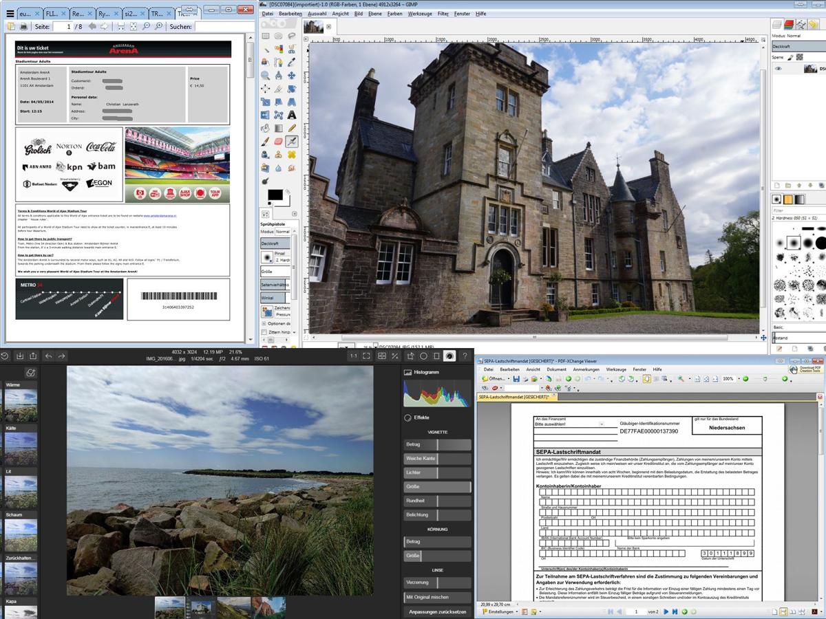 Ein Leben Ohne Adobe Alternativen F 252 R Reader Photoshop