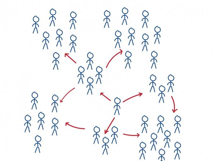 Graphdatenbanken eignen sich besonders gut für das Management und Abfragen von stark vernetzten, komplexen Daten, da sie nicht nur einzelne Objekte, sondern auch die Verbindungen dazwischen sowie deren Eigenschaften visualisieren (Bild: Shutterstock-DeiMosz).
