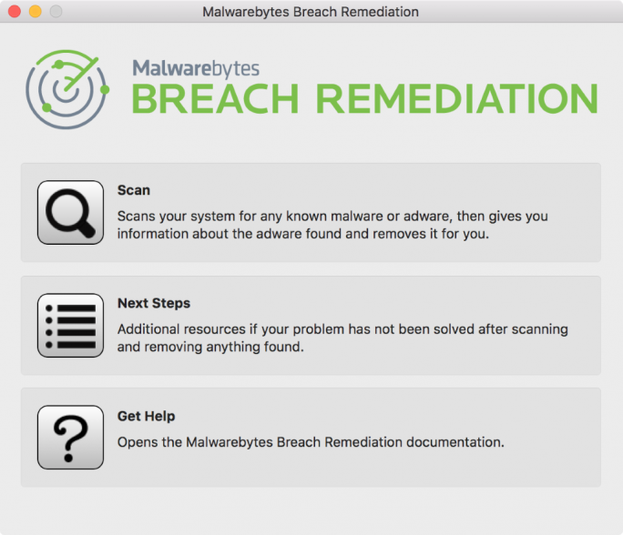 Malwarebytes Breach Remediation (Screenshot: Malwarebytes)