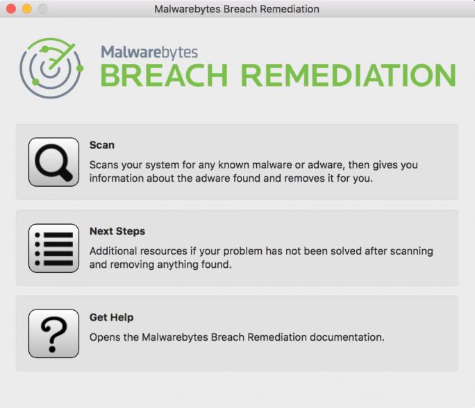 Malwarebytes Breach Remediation (Screenshot: Malwarebytes)