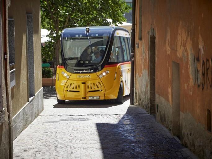 Smartshuttle (Bild: PostAuto Schweiz)
