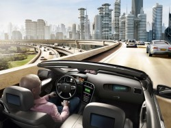Wer ein autonomes Fahrzeug auf die Straße schickt, benötigt eigentlich ein Rechenzentrum auf vier Rädern (Bild: Continental).