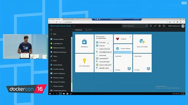Azure Marketplace umfasst jetzt auch Docker Datacenter, die kommerzielle Version der quelloffenen Container-Technologie. (Bild: Microsoft)