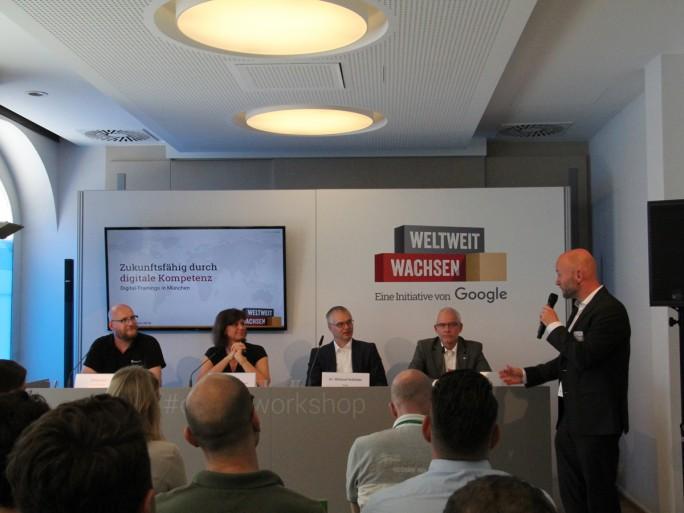 Google und Partner haben heute in München das erste bayerische Trainingszentrum der Initiative