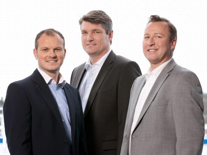 Die Gründer und Geschäftsführer der ITML GmbH:  Stefan Eller, Tobias Wahner und Willy Krießler (Bild: ITML GmbH)