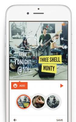 Ein weiteres Prezi-Produkt: die App Nutshell (Bild: Prezi)