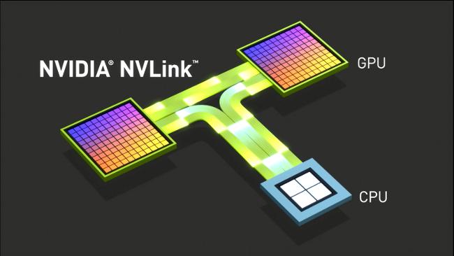 Durch die offene Architektur von IBM Power war es Nvidia möglich für NVLink auf Prozessorebene eine Verbindung zu schaffen. (Bild: Nvidia)