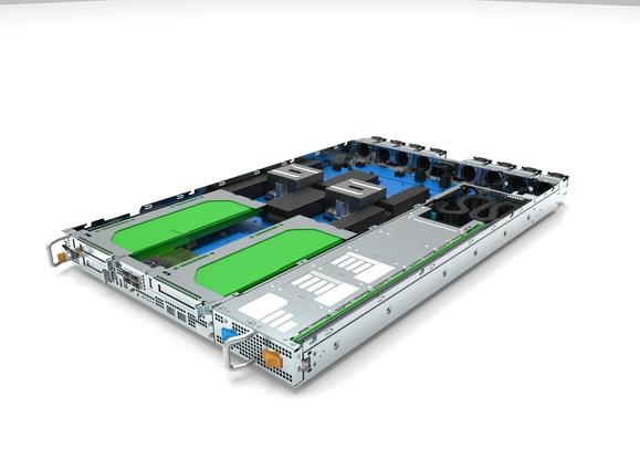 Zaius ist ein Power9-basierter Server, den Google und Rackspace gemeinsam vorgestellt haben. Der Power9 wird ab September auf den Markt kommen. (Bild: Google)