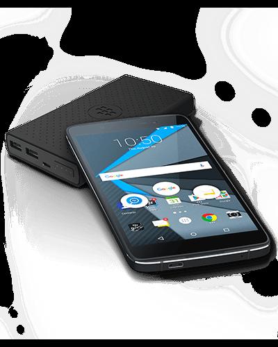 Das DTEK50 soll ein besonders Sicherheitsniveau bieten. Bei der technischen Ausstattung ist das Gerät aber nur Mittelklasse, ist dafür aber auch deutlich günstiger als das Priv, BlackBerrys erstes Android-Smartphone. (Bild: BlackBerry)