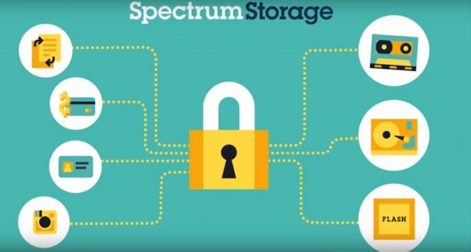 IBMs Software-Defiend Storage-Lösung Spectrum Storage ermöglicht auch Exascale-Umgebungen. (Bild: IBM)