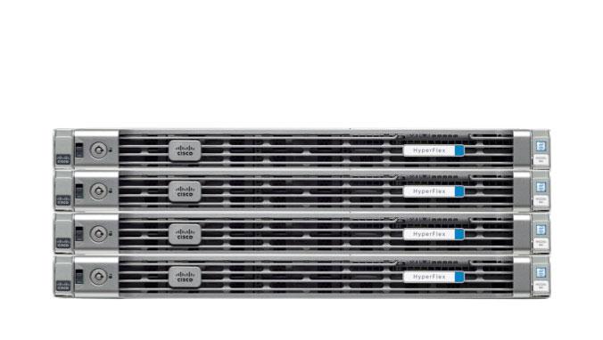 Mit der Produktreihe HyperFlex ist inzwischen auch Cisco im Markt für hyperkonvergente Systeme vertreten. (Bild: Cisco)