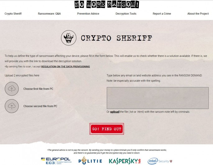 Crypto-Sheriff (Screenshot: silicon.de)
