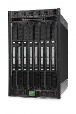 Die Vorstellung der auf Xeon-Prozessoren basierenden Reihe HP Integrity Superdome X interpretierten Beobachter als Zeichen dafür, dass auch HP nicht mehr an eine lZukunft der Itanium-Systeme glaubt (Bild: HP)