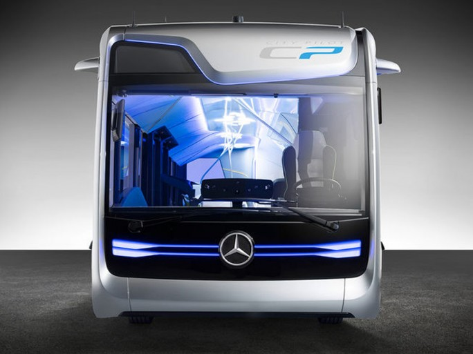 Mercedes-Benz Future Bus (Bild: Daimler)