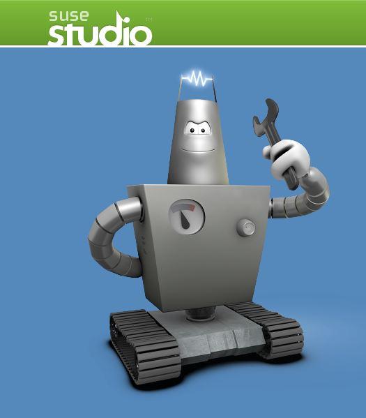 Anwender können auch mit Tools wie SUSE Studio in der Azure-Version von SUSE Enterprise Linux arbeiten. (Bild: SUSE)