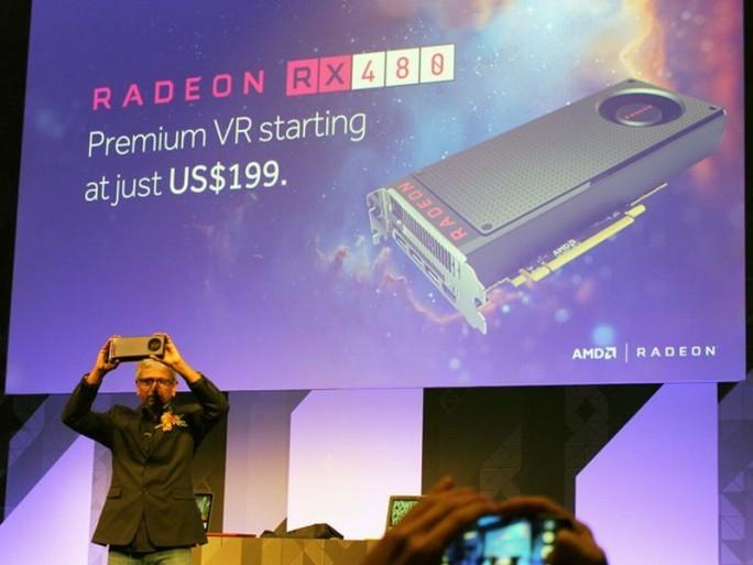 Die AMD Radeon RX 480 (Polaris) wird nun auch vollständig von dem Linux-Kernel unterstützt. (Bild: ZDNet.com)