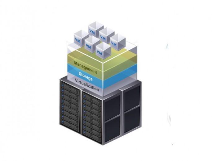 Hyperkonvergente System (Grafik: VMware)
