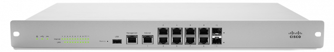 Die Cisco Meraki Mx 100 vereinfacht die Konfiguration von Ciscos Lösung Advanced Malware Protection. (Bild: Cisco)