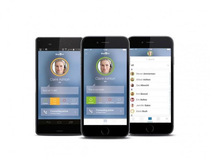 Swyx macht Smartphones mit Mobil-App zur Nebenstelle (Bild: Swyx)
