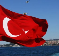 Türkei Flagge (Bild: shutterstock / refleXtions)