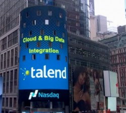 Talend Nasdaq (Screenshot: silicon.de)