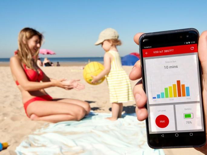 Der Strandbesuch, die letzte Bastion eines noch nicht von Apps geregelten Lebens, wurde im vergangenen Jahr von Vodafone gestürmt. (Bild: Vodafone)