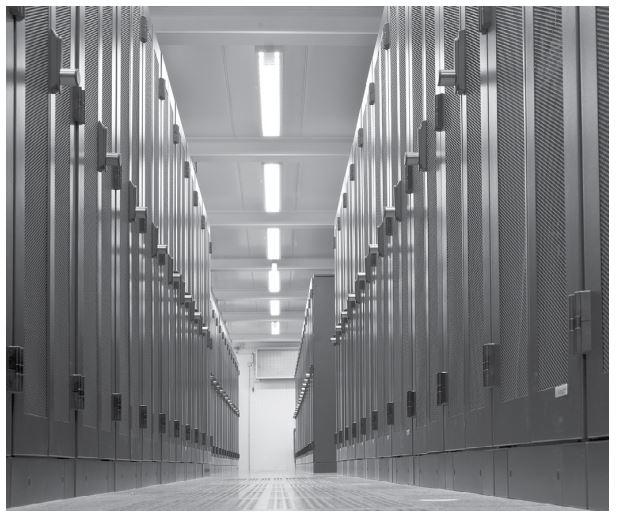 Blick in ein Vodafone-Rechenzentrum. (Bild: Vodafone)